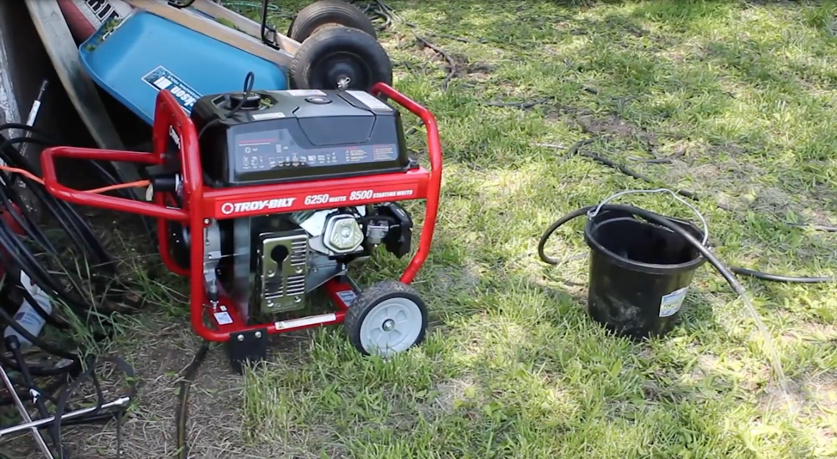 How to run a Submersible Well Pump off a portable generator.